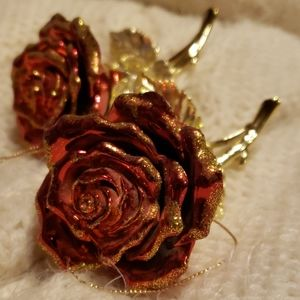 Other - Gorgeous Rose Ornaments